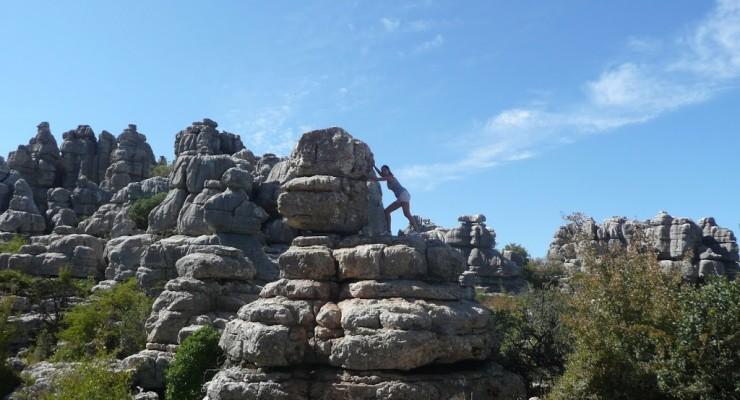 El Torcal de Antequera - Felsformationen