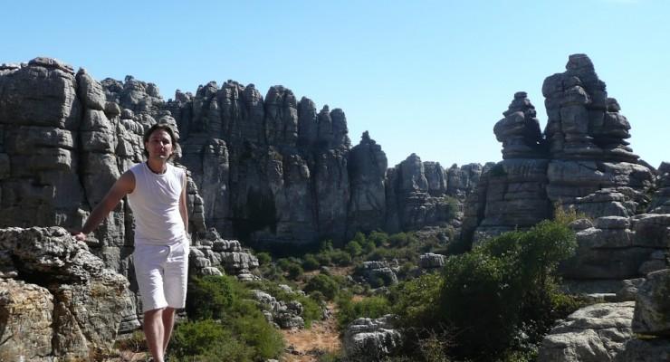 El Torcal de Antequera - Ausblick ins Tal