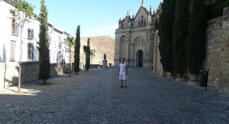 Antequera, Spanien - Eingang Alcazaba