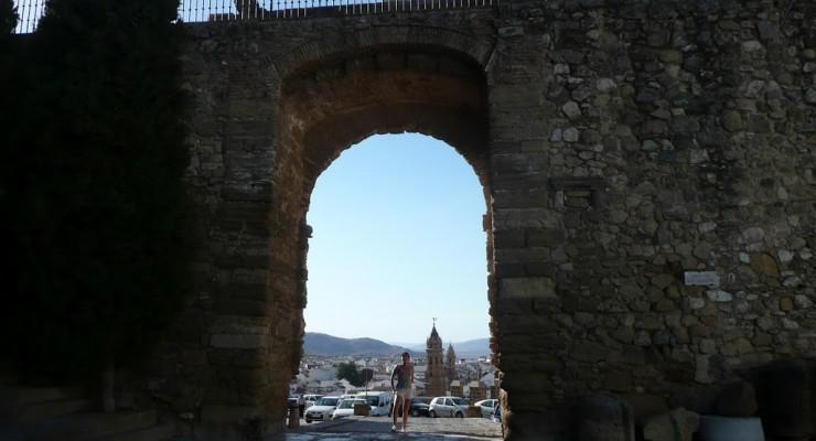 Antequera, Spanien - Ausblick auf die Stadt