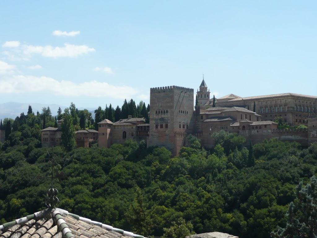 Alhambra de Granada - Blick von der Altstadt