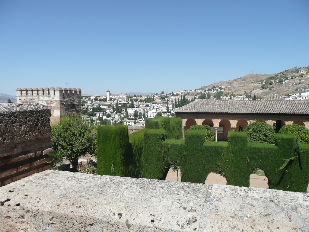 Alhambra, Granada - Erster Eindruck