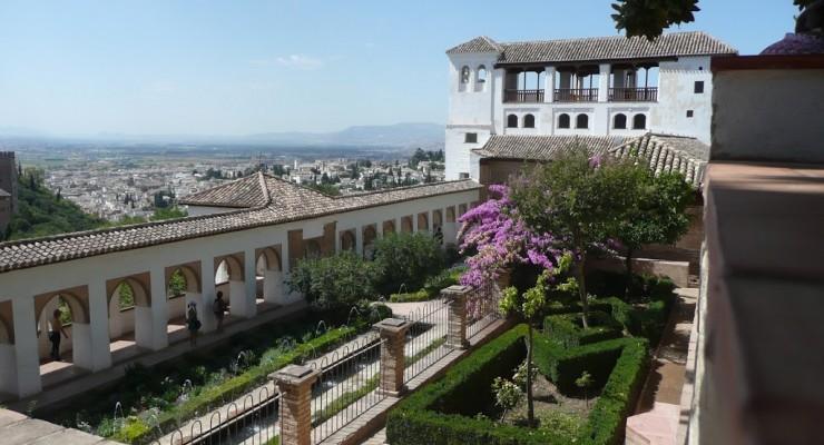 Palacio Generalife, Granada - Gartenanlage