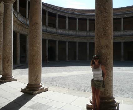 Palacio de Carlos V., Granada