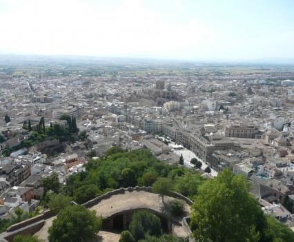 Torre de la Vela, Granada - Ausblick