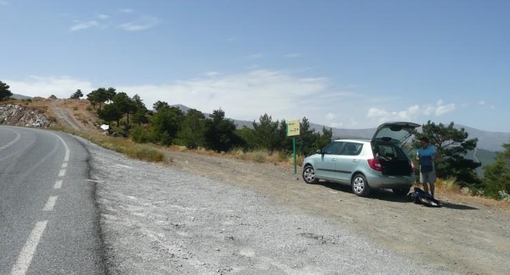 Mirador del Marquesado - Ausfahrt