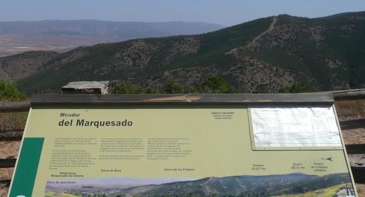 Mirador del Marquesado - Ausblick