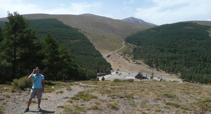 Alpujarra, Granada - Wanderstation Hügel