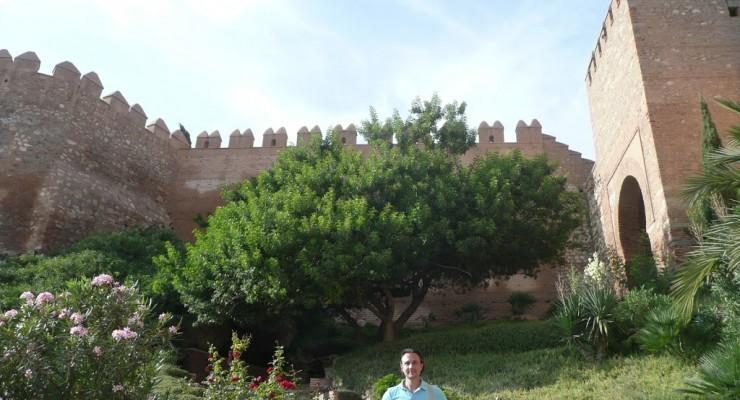 Alcazaba Almería - Eingangsbereich
