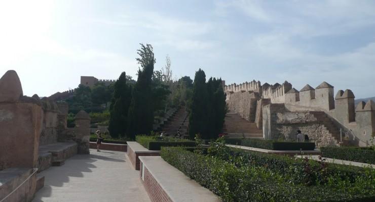 Alcazaba Almería - Innenhof