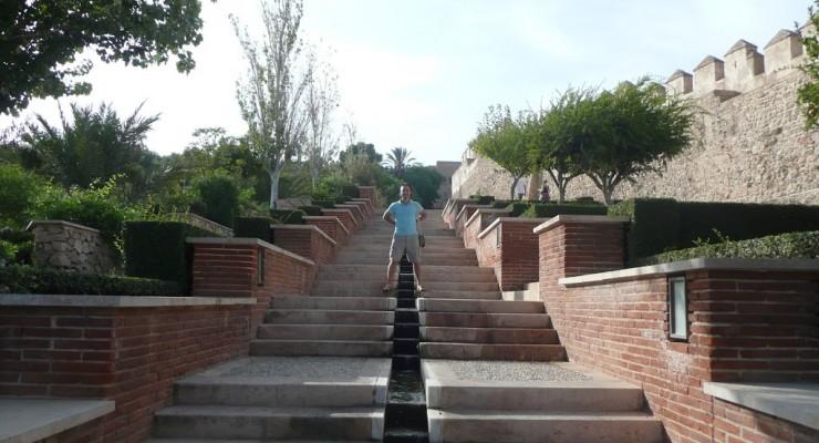 Alcazaba Almería - Wasserlauf