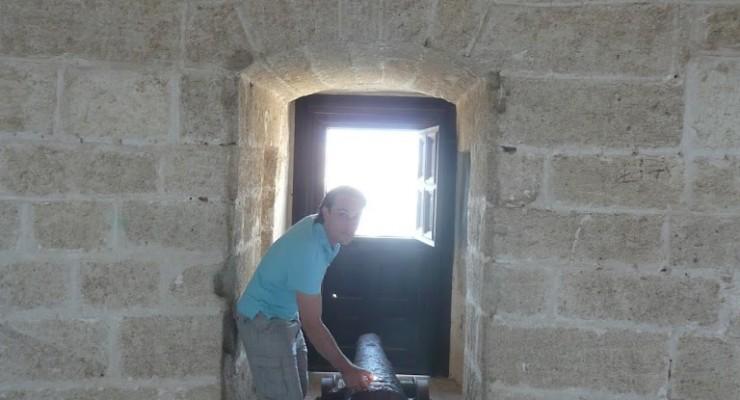 Alcazaba Almería - Geschützturm