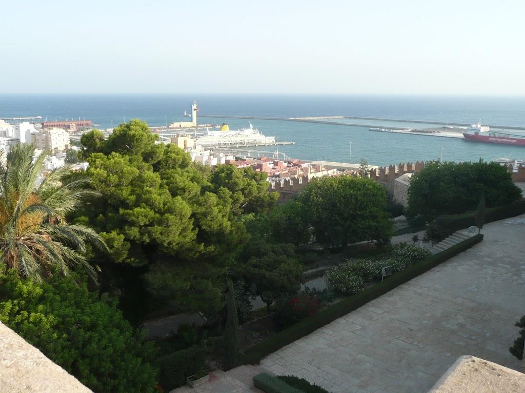 Alcazaba Almería - Ausblick