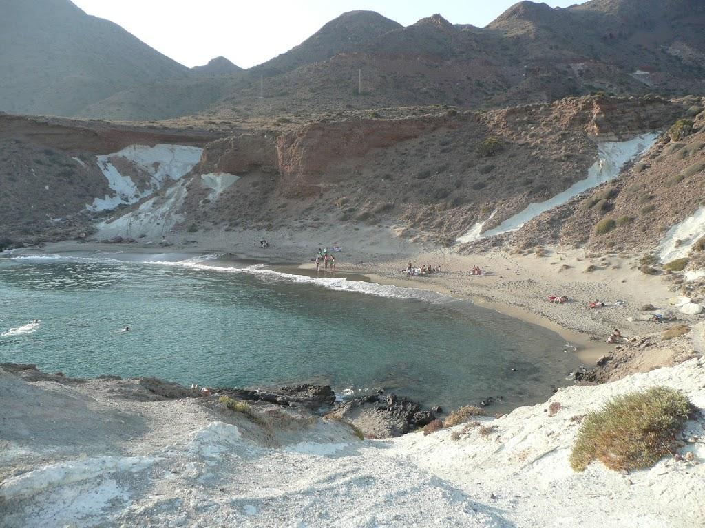 Parque Natural Cabo de Gata, Spanien - Strandbucht Cala Rajá