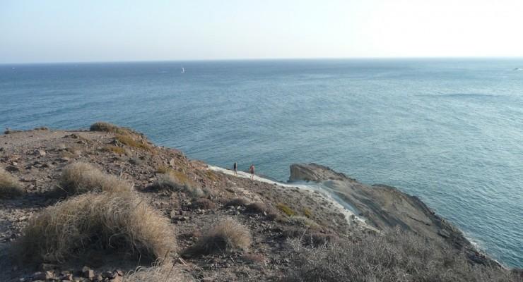 Parque Natural Cabo de Gata, Spanien - Strandbucht Cala Rajá Zugang