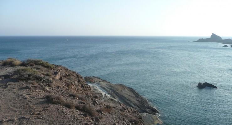 Parque Natural Cabo de Gata, Spanien - Strandbucht Cala Rajá Weg