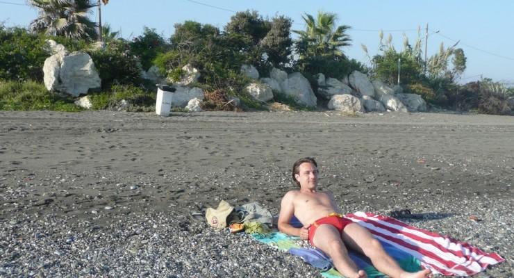 Almayate Bajo Spanien - Strand