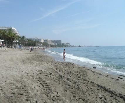 Marbella, Spanien - Strand