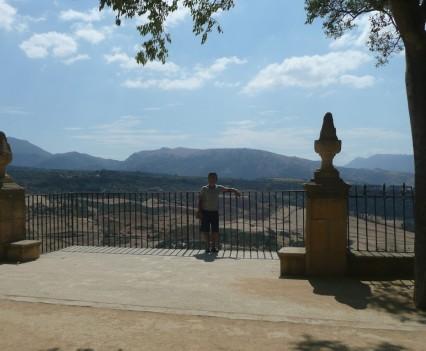Ronda, Spanien - Stadt auf dem Berg