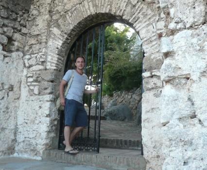 Gaucín, Spanien - Eingangstor Castilla de Aguila