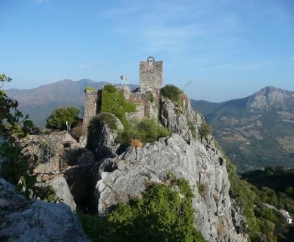 Gaucín, Spanien - Castilla de Aguila